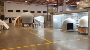 Shipboard Radome Fabrication
