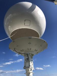 Radome Fitting Over Antenna